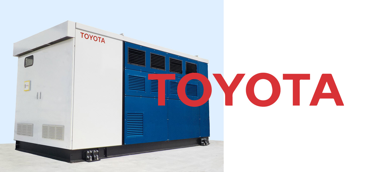 Toyota Installs FC Plant