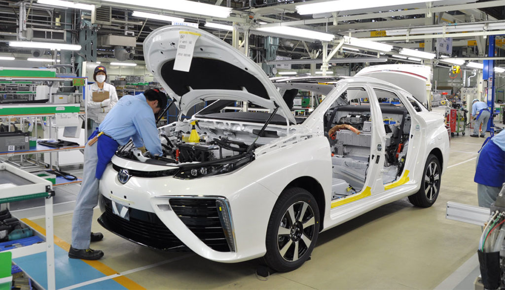Milestone: Toyota's 10,000th Fuel Cell Mirai Comes off the Assembly Line
