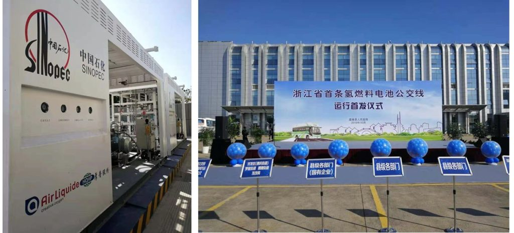 Air Liquide and Houpu Opening Hydrogen Station in China