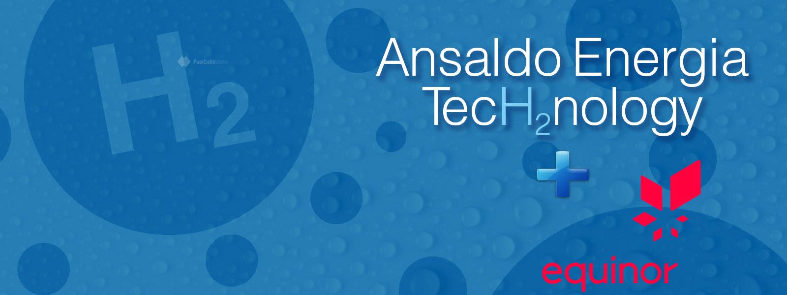 Ansaldo Hydrogen Engineering Plus Equinor