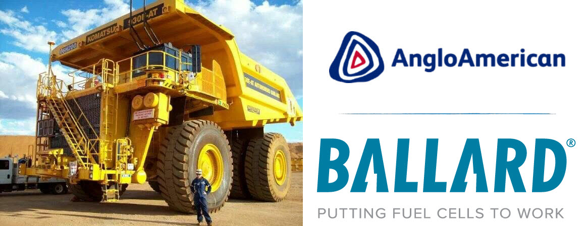 Ballard Mining Truck Fuel Cell for Anglo American