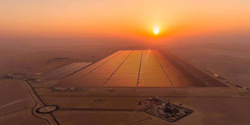 Dubai Solarpark Sonne MENA