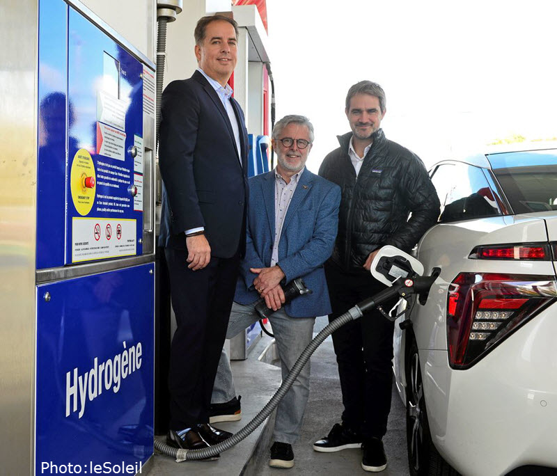 First Hydrogen Station in Quebec City Main