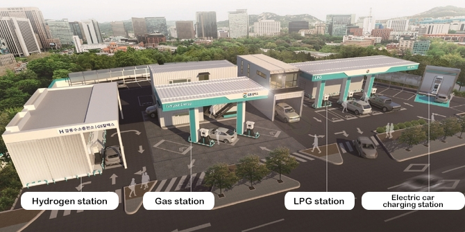 GS Caltex Hydrogen and Multi Fuel Station