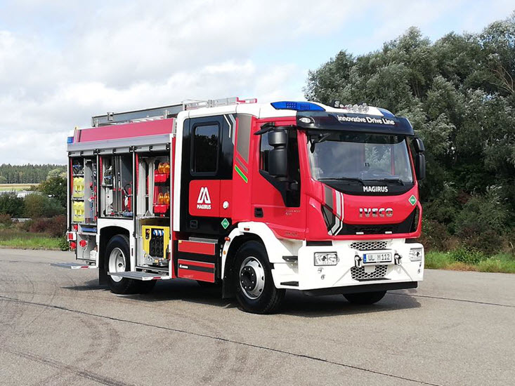 H2Sys Fire Truck with Fuel Cell FB