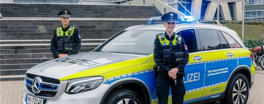 Germany: Hamburg Police Add Hydrogen Fuel Cell Patrol Car to Fleet -  FuelCellsWorks