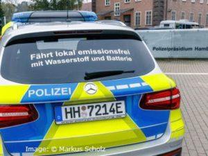 Hamburg Police Fuel Cell Car small