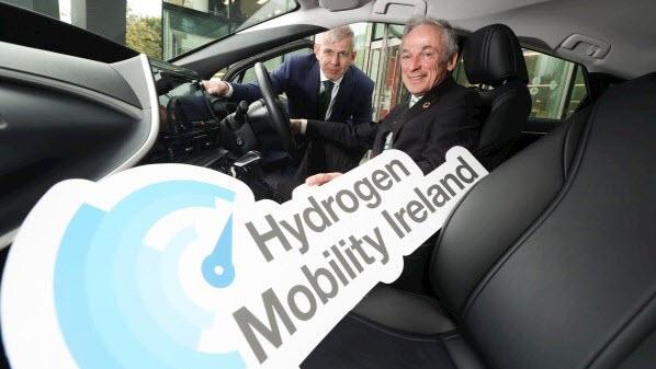 Hydrogen Mobility Ireland MarkTeevan Minister Richard Bruton