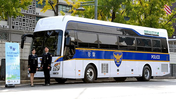Hyundai Police Bus Main