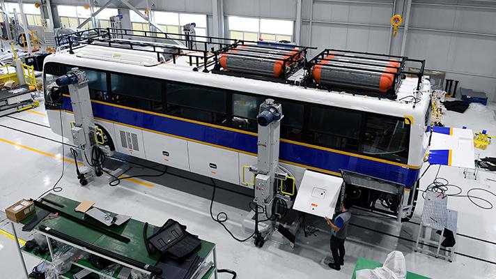 Hyundai Police Bus Manufacturing