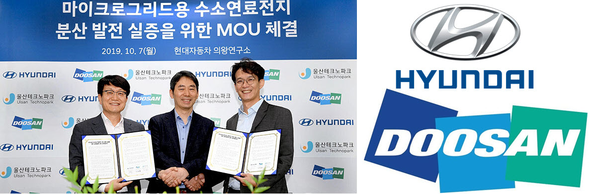 Hyundai and Doosan Fuel Cells Main