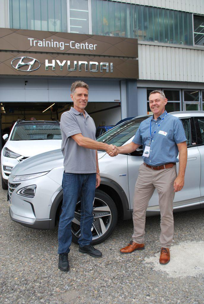 Hyundai trains Swiss vocational school teachers 2