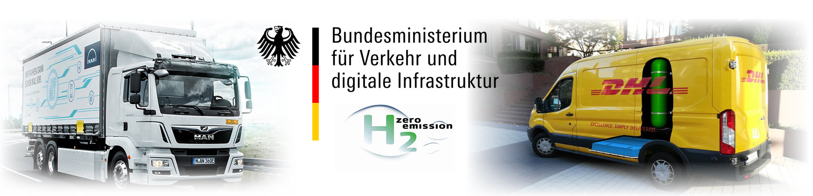MAN DHL Funding from BMVI Germany for Fuel Cell Hydrogen