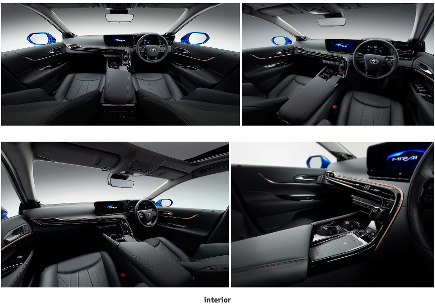 New Mirai Concept Main Interior