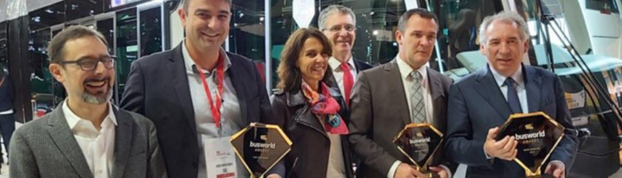 Pau Bus Wins Awards