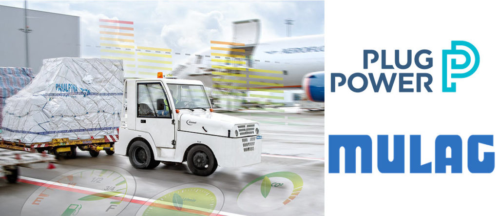 Plug Power Teams with German Manufacturer MULAG to Bring New Hydrogen-Powered Ground Support Vehicles to Hamburg Airport