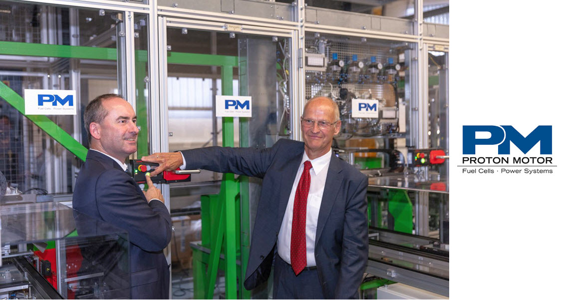Proton Motor Launches New Manufacturing Plant
