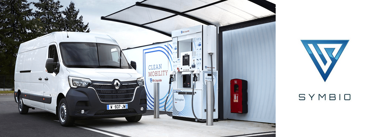 Symbio Renault Fuel Cell Range Extender Refueling Main