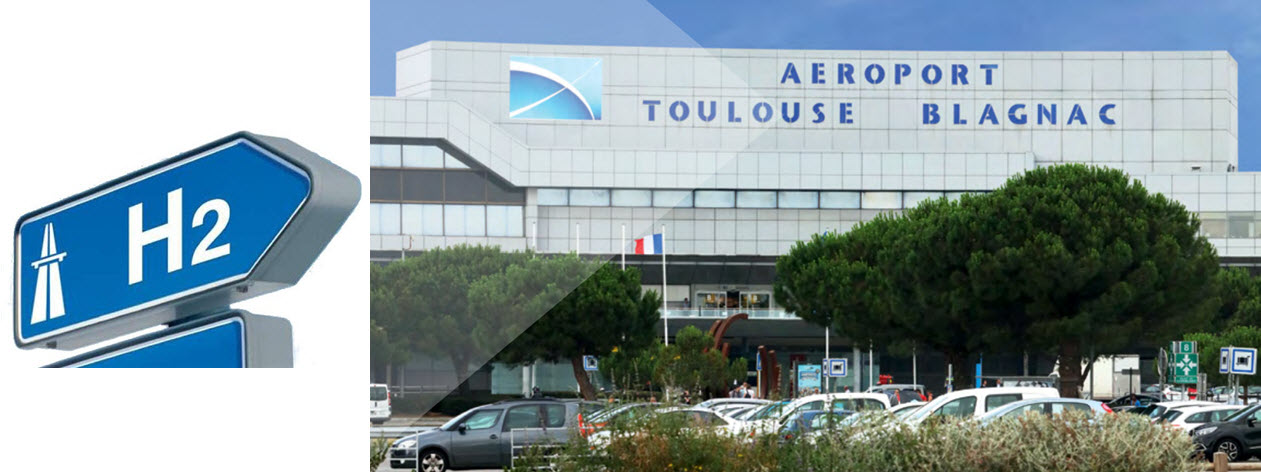 Toulouse Hydrogen at Airport