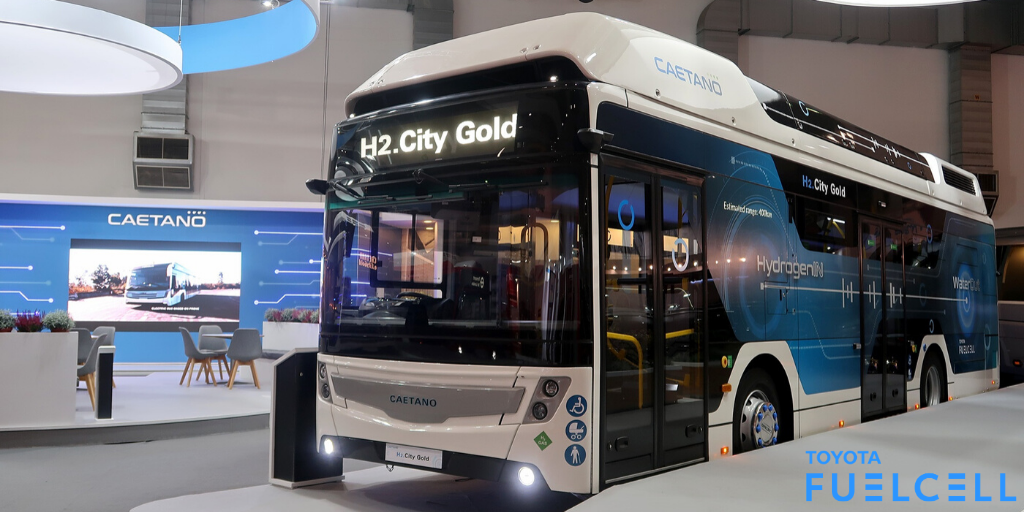 Toyota Fuel Cell Bus for Portugal