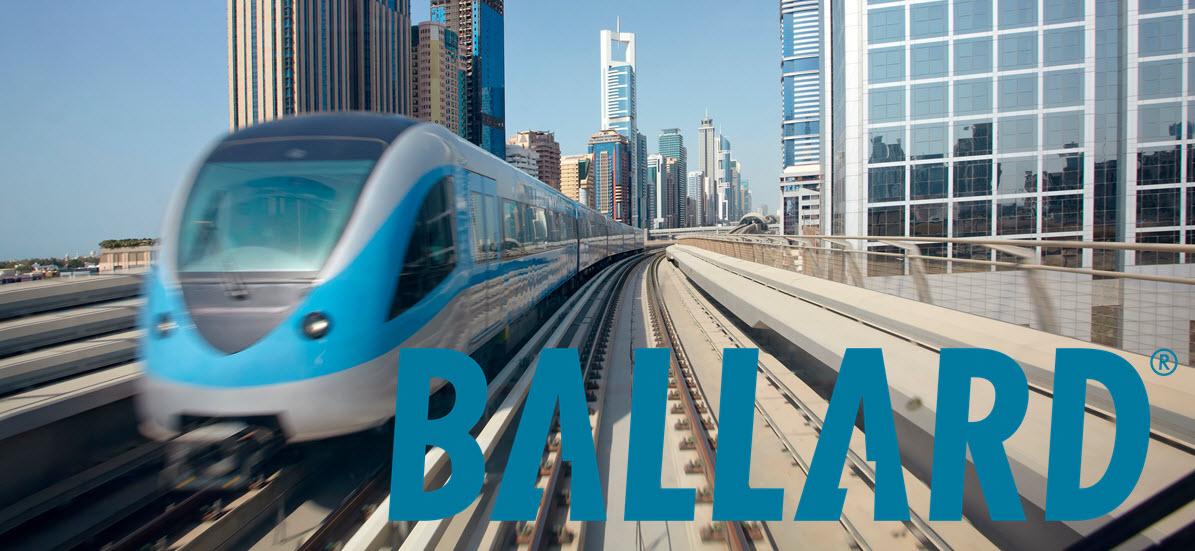 hydrogen trains Ballard