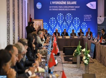 rabat linstitut amadeus organise une conference sur lhydrogene solaire