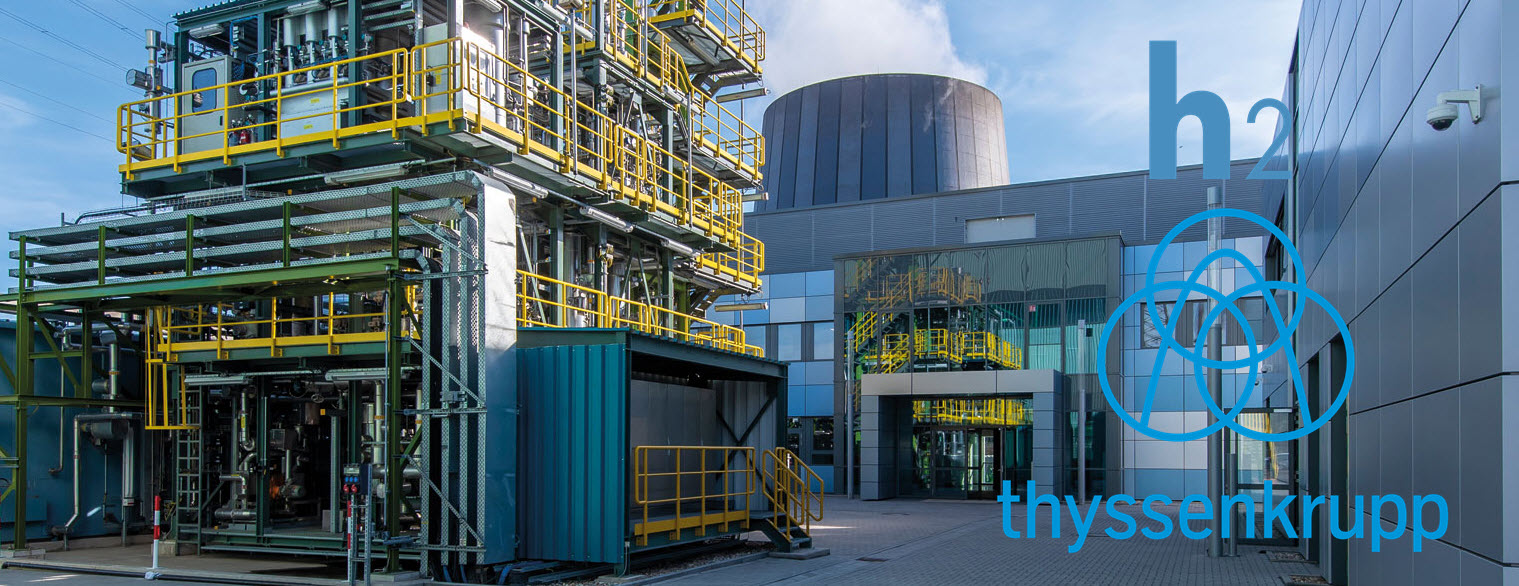 thyssenkrupp hydrogen based steel production main