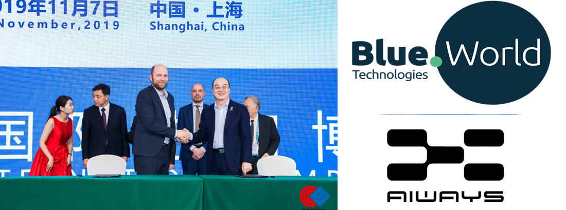 Blue World Signs Agreement with Aiways Main Long