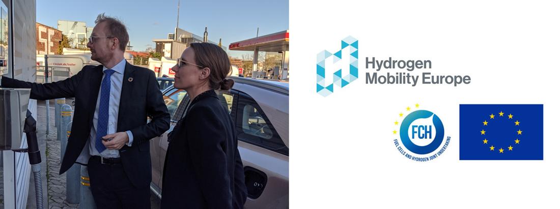 Environment Minister Lea Wermelin Test Drives Nexo Hydrogen Car Main