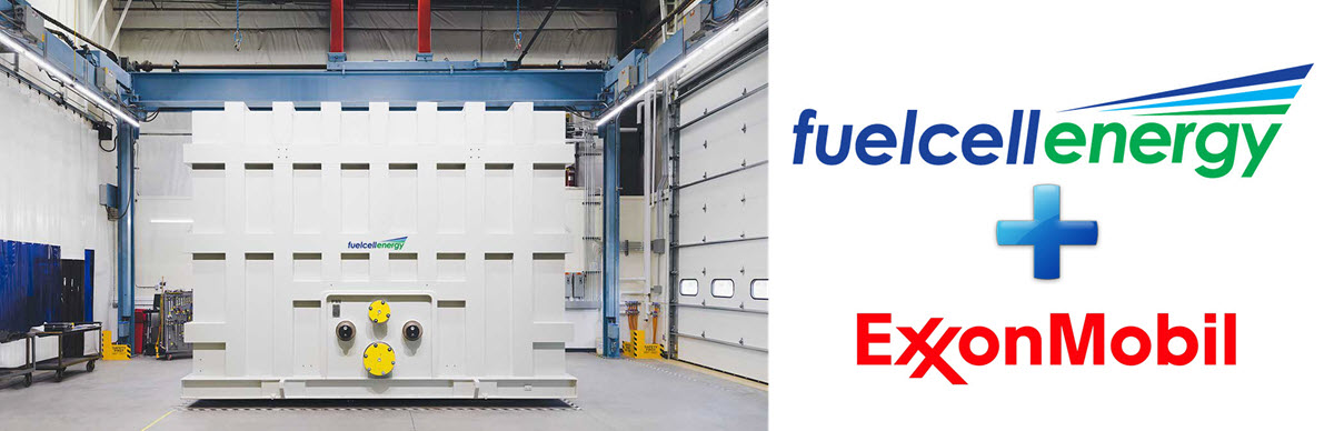 ExxonMobil, FuelCell Energy Expand Agreement for Carbon Capture Technology - FuelCellsWorks
