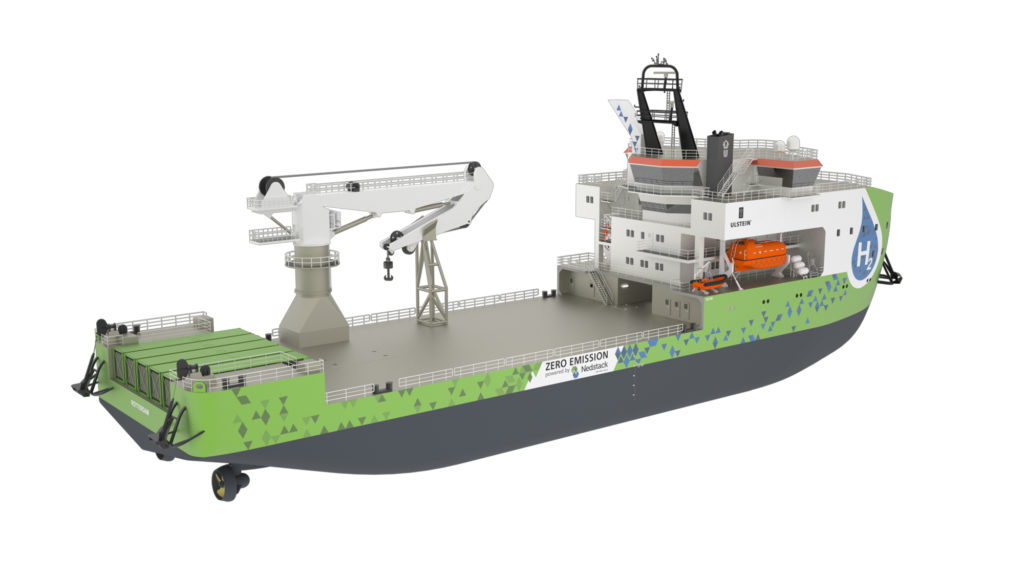 Featuring the X BOW the SX190 is the first hydrogen vessel by Ulstein