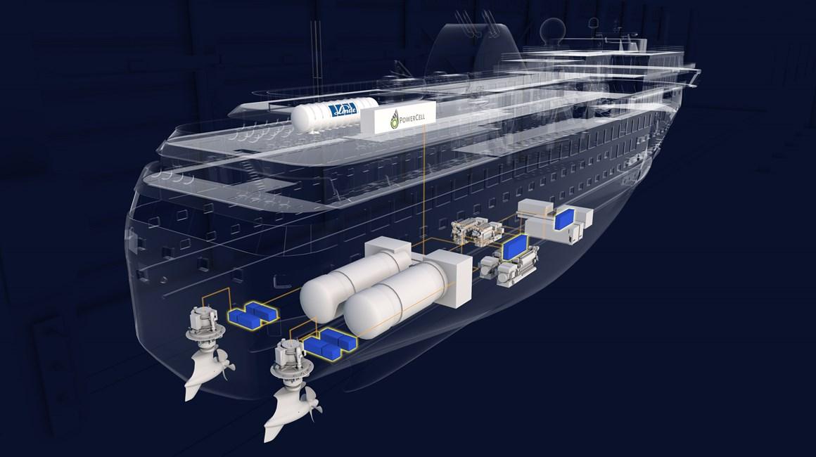 Havyard Hydrogen Fuel Cell Prototype fo Large Ships Main