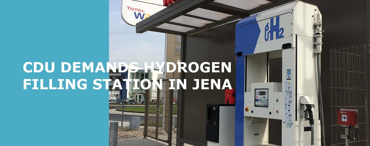 Hydrogen Station Germany Jena Main