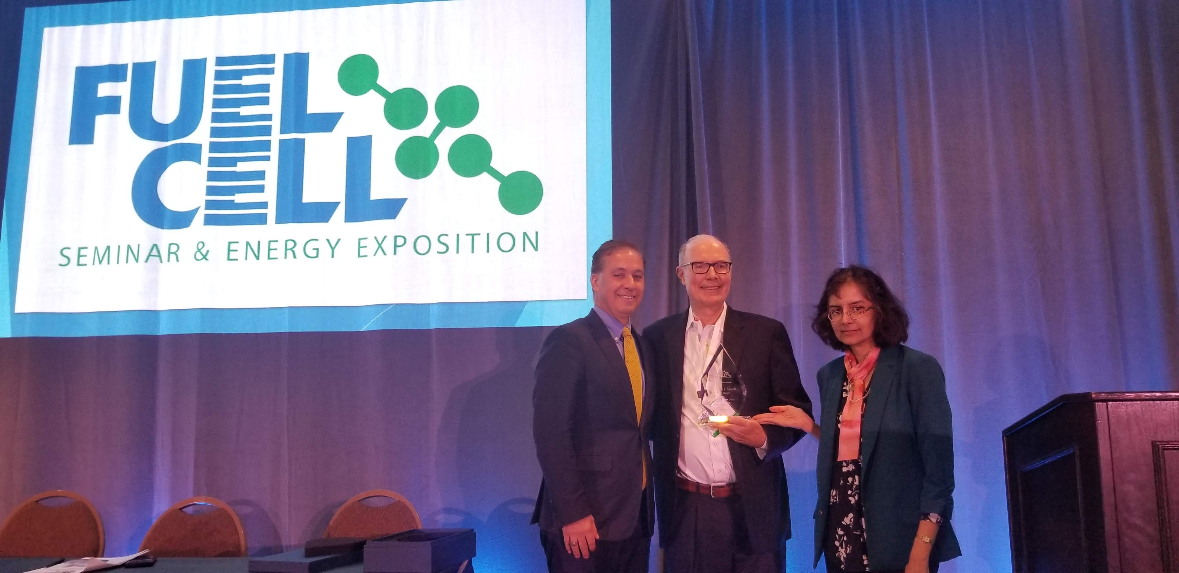 Plug Power Award from FCSEE