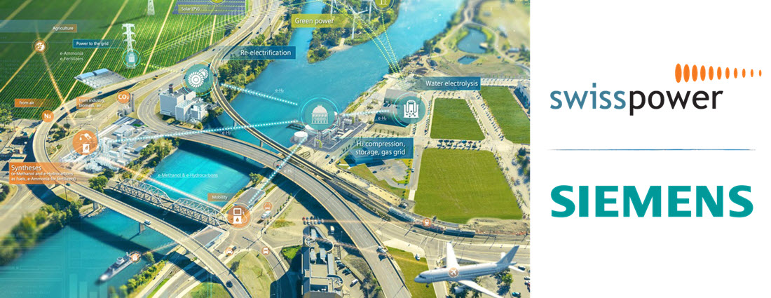 Power to X Siemens and SwissPower