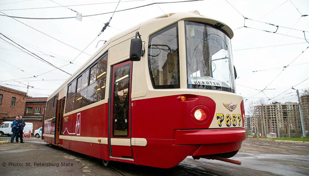 Russian Fuel Cell Hydrogen Tram TW