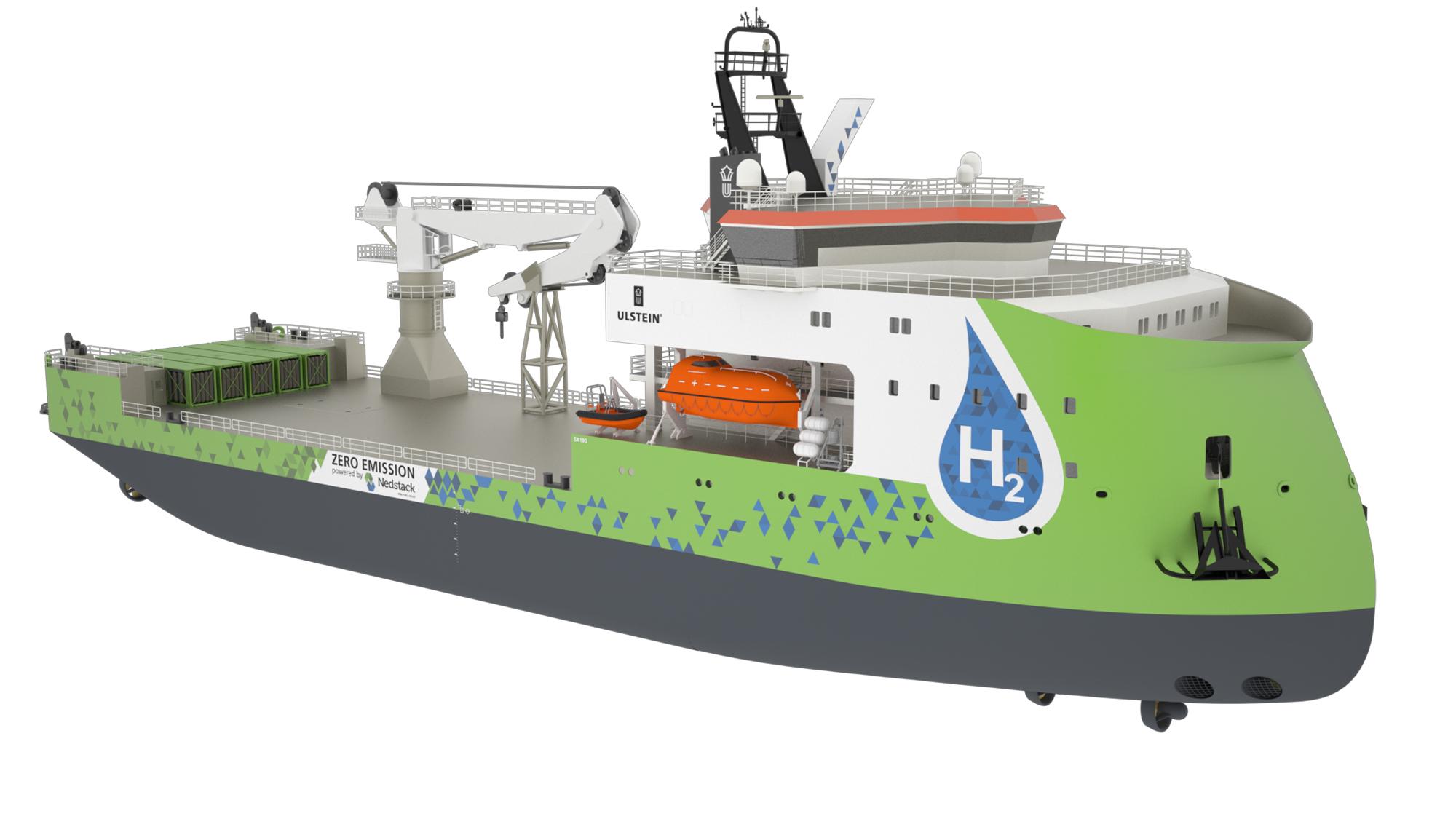 SX190 hydrogen vessel