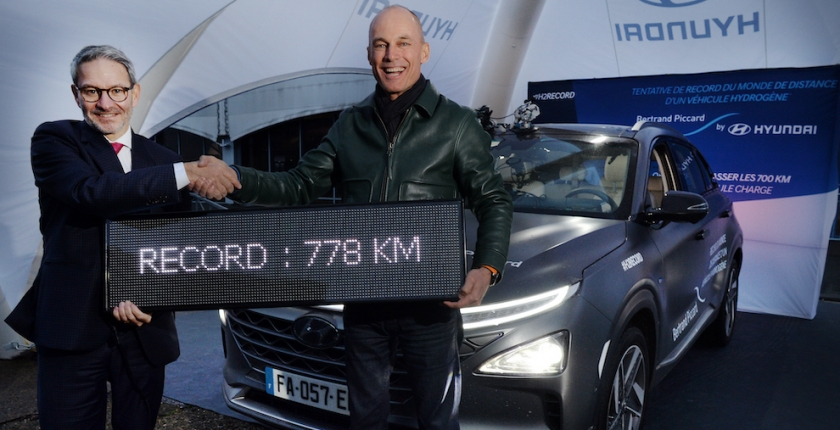The Hydrogen Car here and now not just for the future