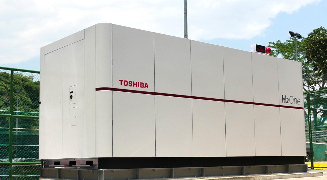Toshiba H2One