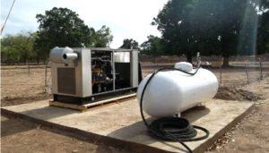 Unit%C3%A9 pilote de production de l%C3%A9lectricit%C3%A9 %C3%A0 partir de lhydrog%C3%A8ne naturel de Bourak%C3%A9bougou