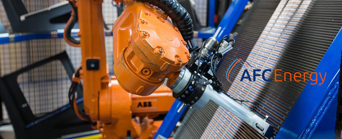 afc energy robot Main