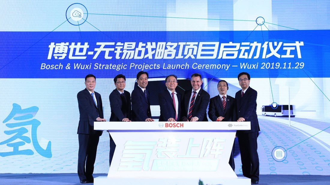 Bosch Fuel Cell Center in China