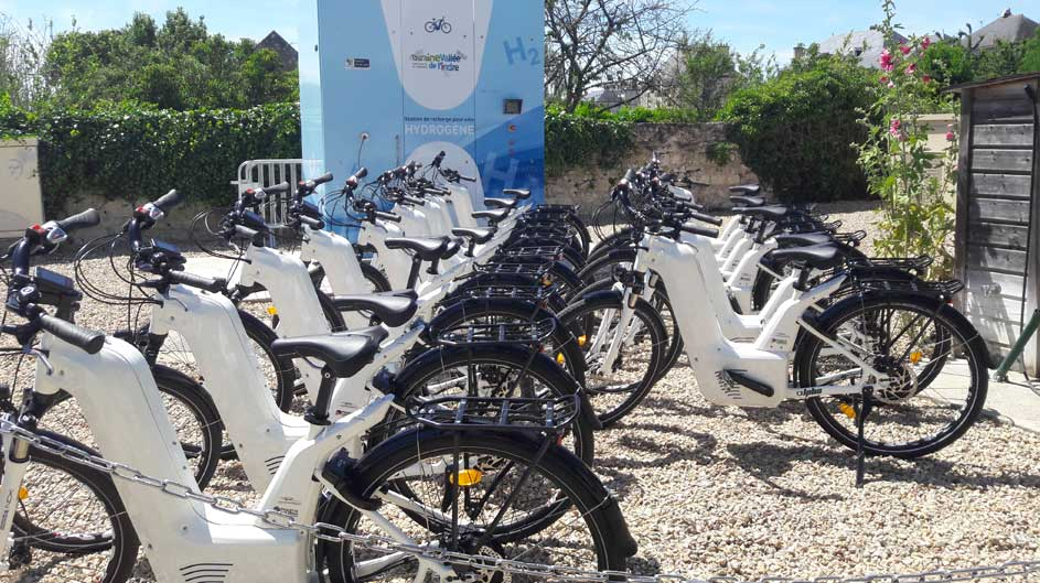 Center Val de Loire Region Acquires Pragma Hydrogen Bikes