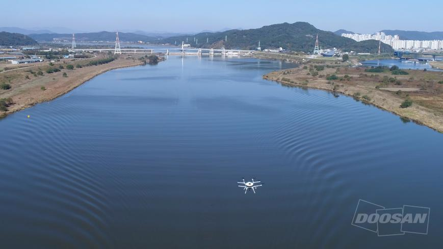 Doosan Fuel Cell Drone Water Inspection