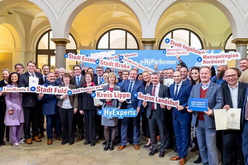 German Hydrogen Funding