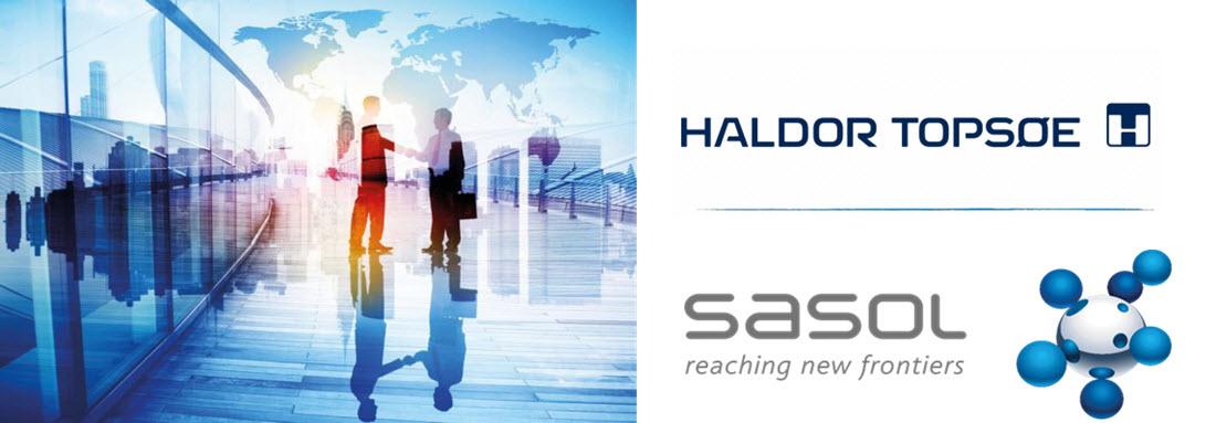 Haldor Topsoe Sasol Agreement Main