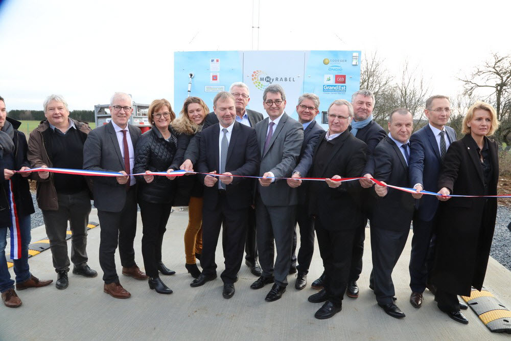 MHyRABEL Hydrogen Station Inaguaration
