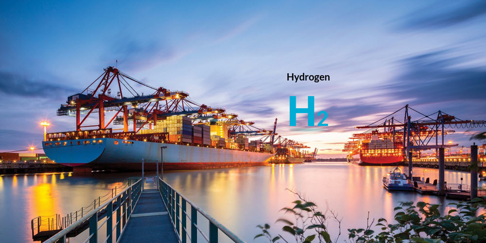 Ports with Hydrogen