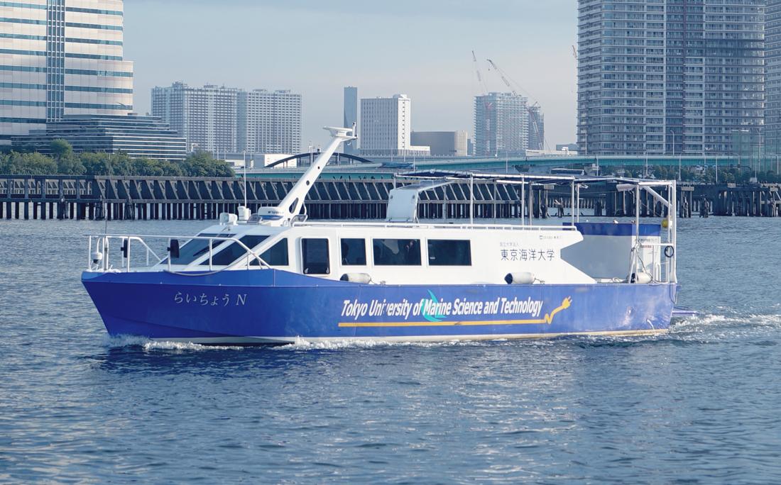 RaichoN Hydrogen Fuel Cell Boat Toshiba