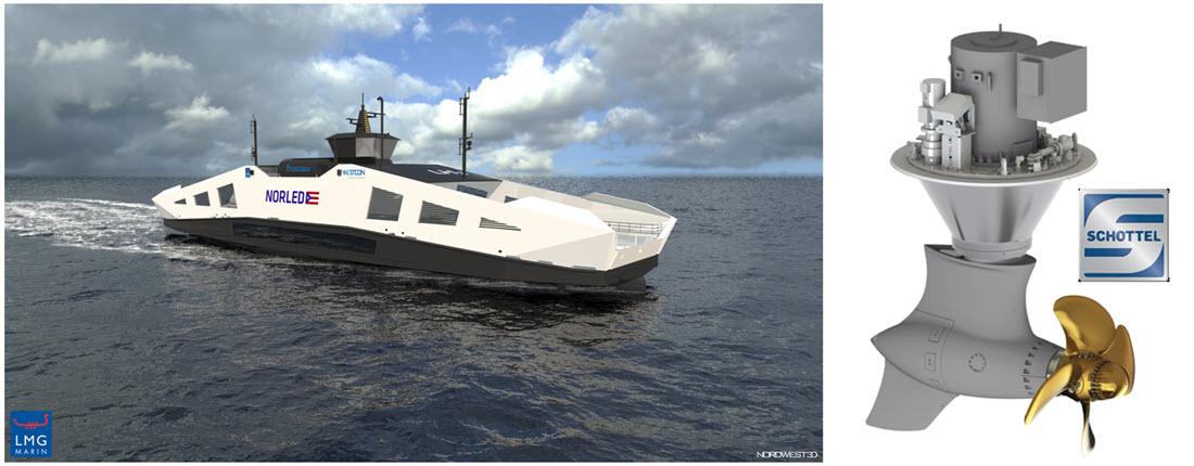 Schottel Norled Hydrogen Ferry Boat